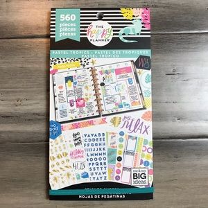 The Happy Planner Sticker - Pastel Tropics